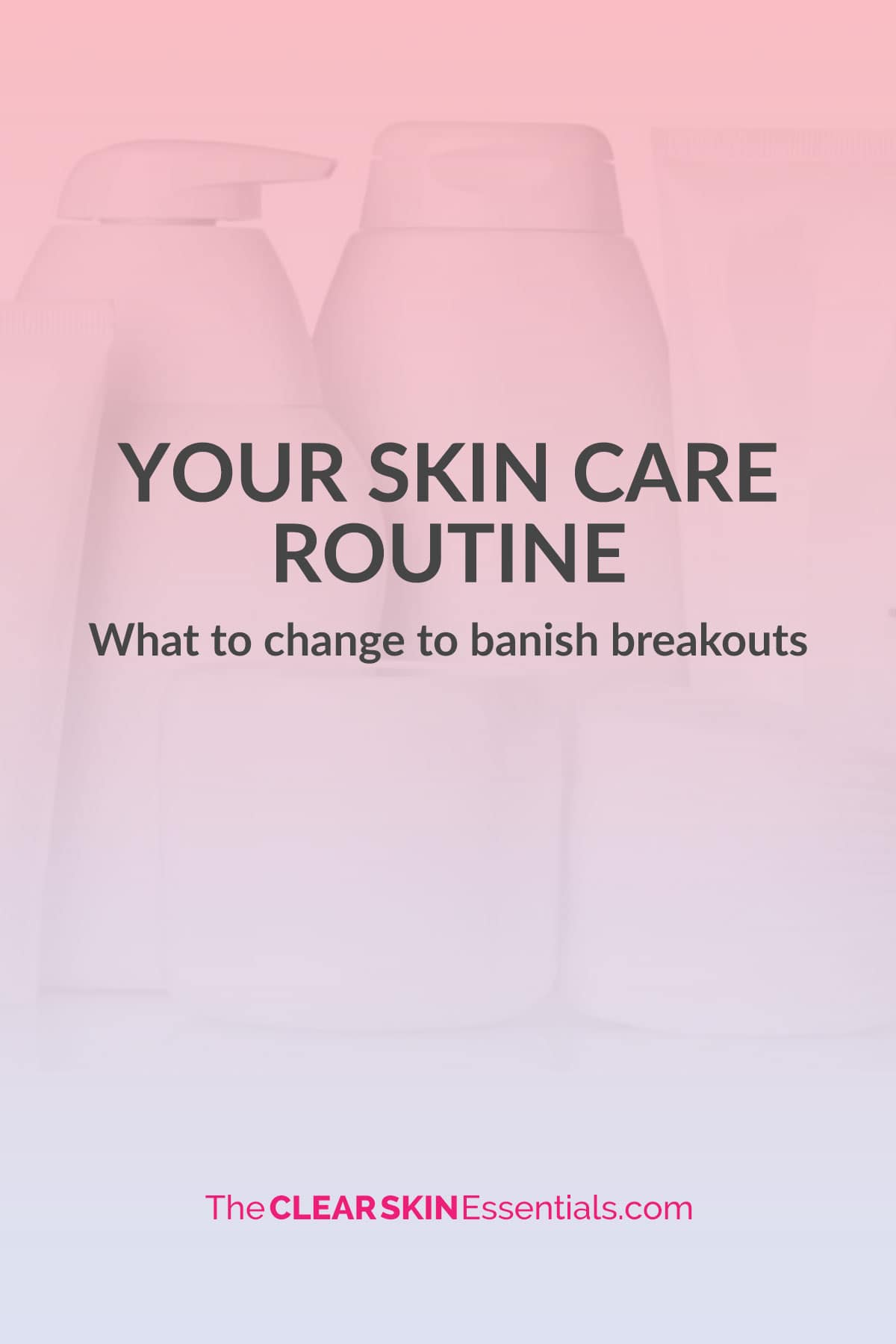 Learn how your skin care routine is making your breakouts and acne worse, and what to do instead.