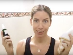 Learn how to do the oil cleansing method for acne prone skin. Instructions and video demo included.