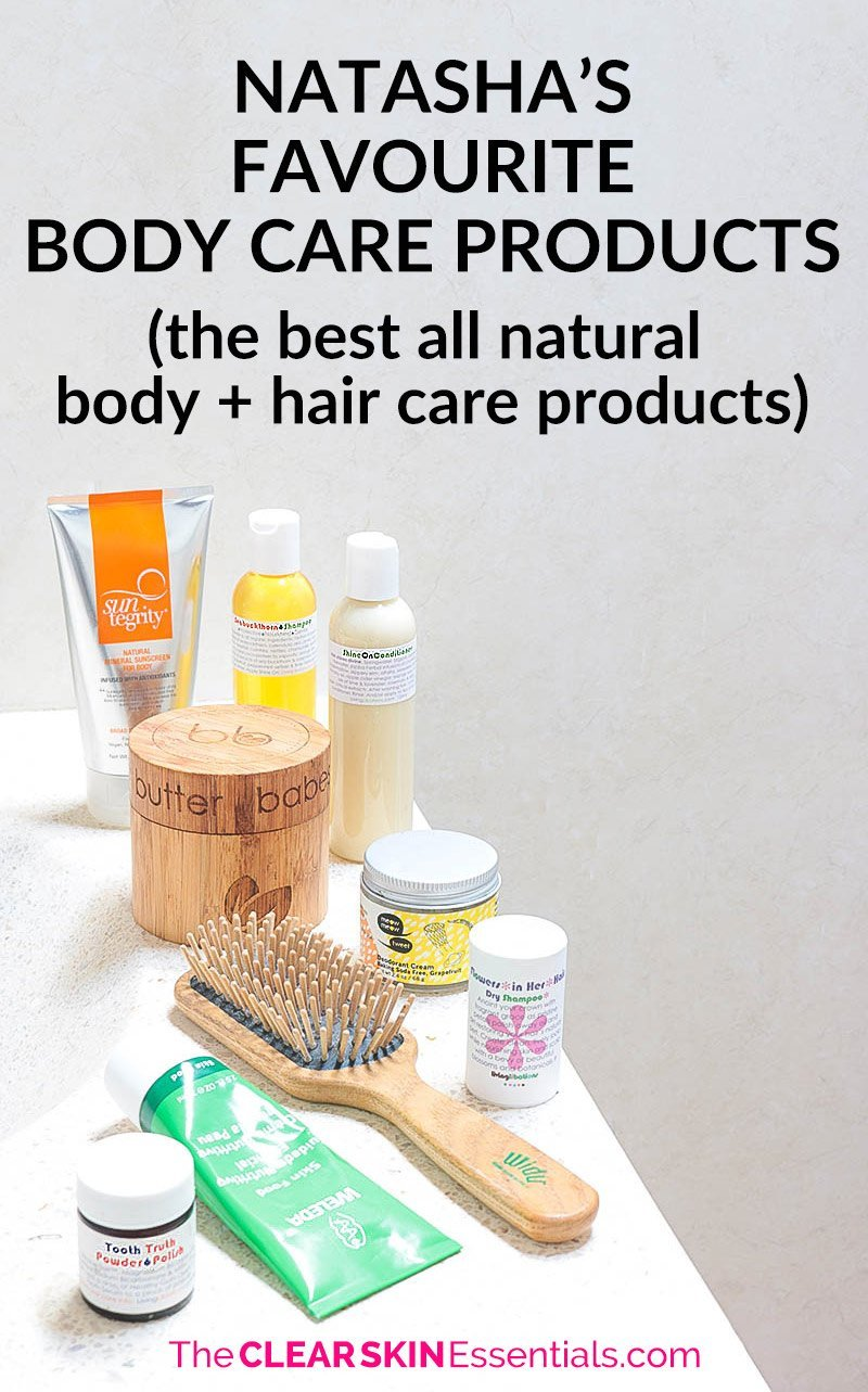 I've tried A LOT of natural hair care and body care products - here's my favourites! Be sure to sign-up to my mailing list for updates and also check out my favourite skincare products too! | www.theclearskinessentials.com