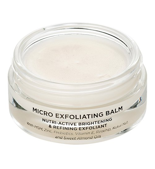 Fade acne scars with exfoliation, try Oskia Skincare Micro Exfoliating Balm.