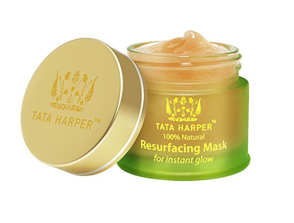 Fade acne scars with exfoliation, try Tata Harper Resurfacing Mask.