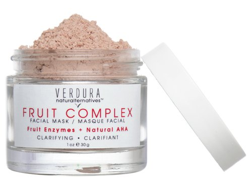 Fade acne scars with exfoliation, try VERDURA naturalternatives Fruit Complex Enzyme Mask.
