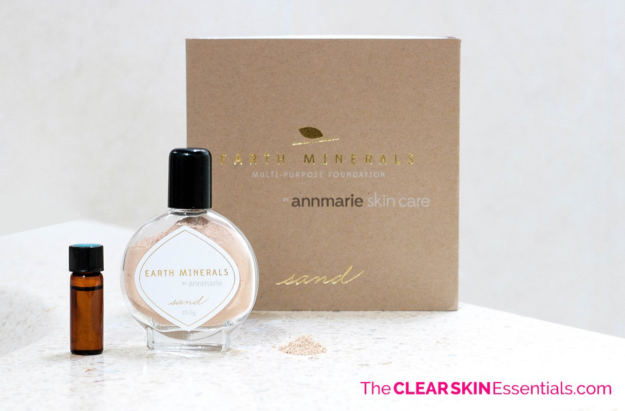 Review of Annmarie Skin Care Minerals Multi Purpose Foundation.
