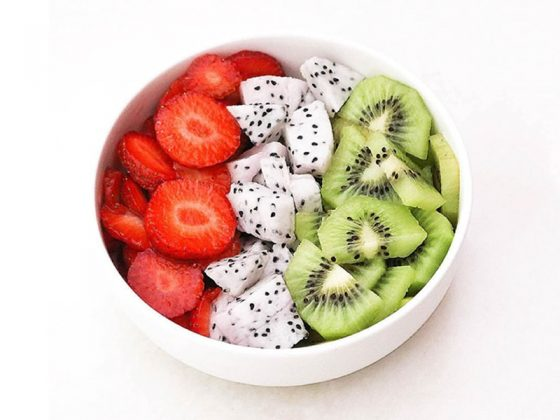 How to get motivated to eat healthy for clear skin.