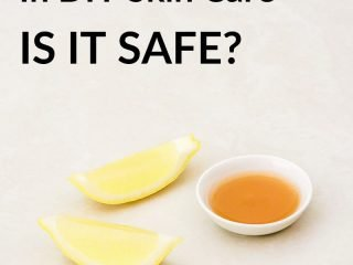 Apple cider vinegar and lemon are not safe for your skin, find out why.