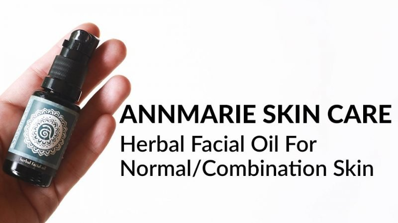 Annmarie Skin Care Herbal Facial Oil For Normal/Combination Skin review.