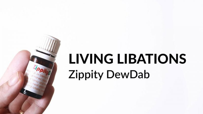 Living Libations Zippity DewDab review
