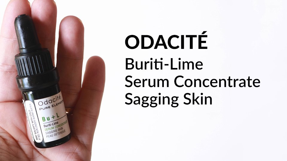 Odacite Buriti-Lime Serum Concentrate review.