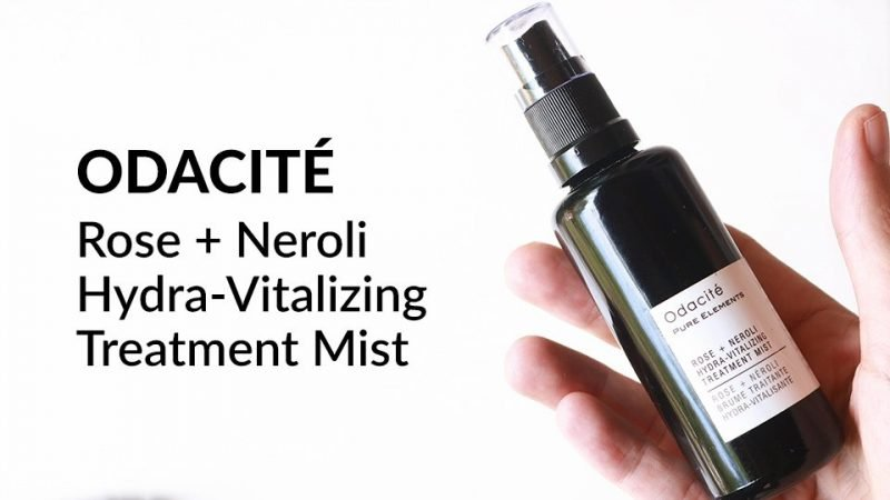 Odacite Rose + Neroli Hydra-Vitalizing Treatment Mist review.