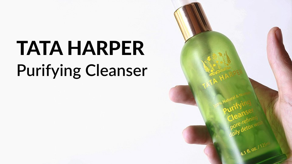 Tata Harper Purifying Cleanser review.