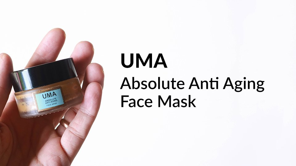 UMA Absolute Anti Aging Face Mask review.