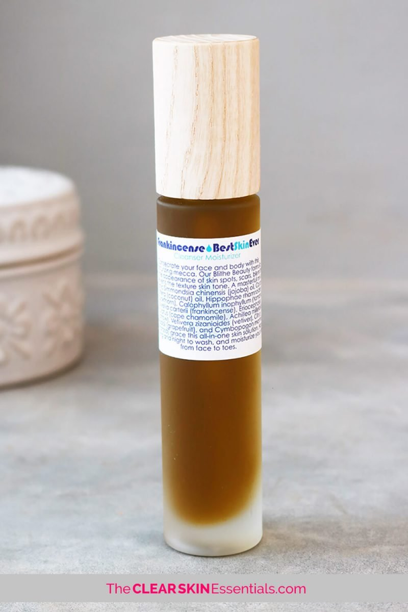 Living Libations Frankincense Best Skin Ever review.