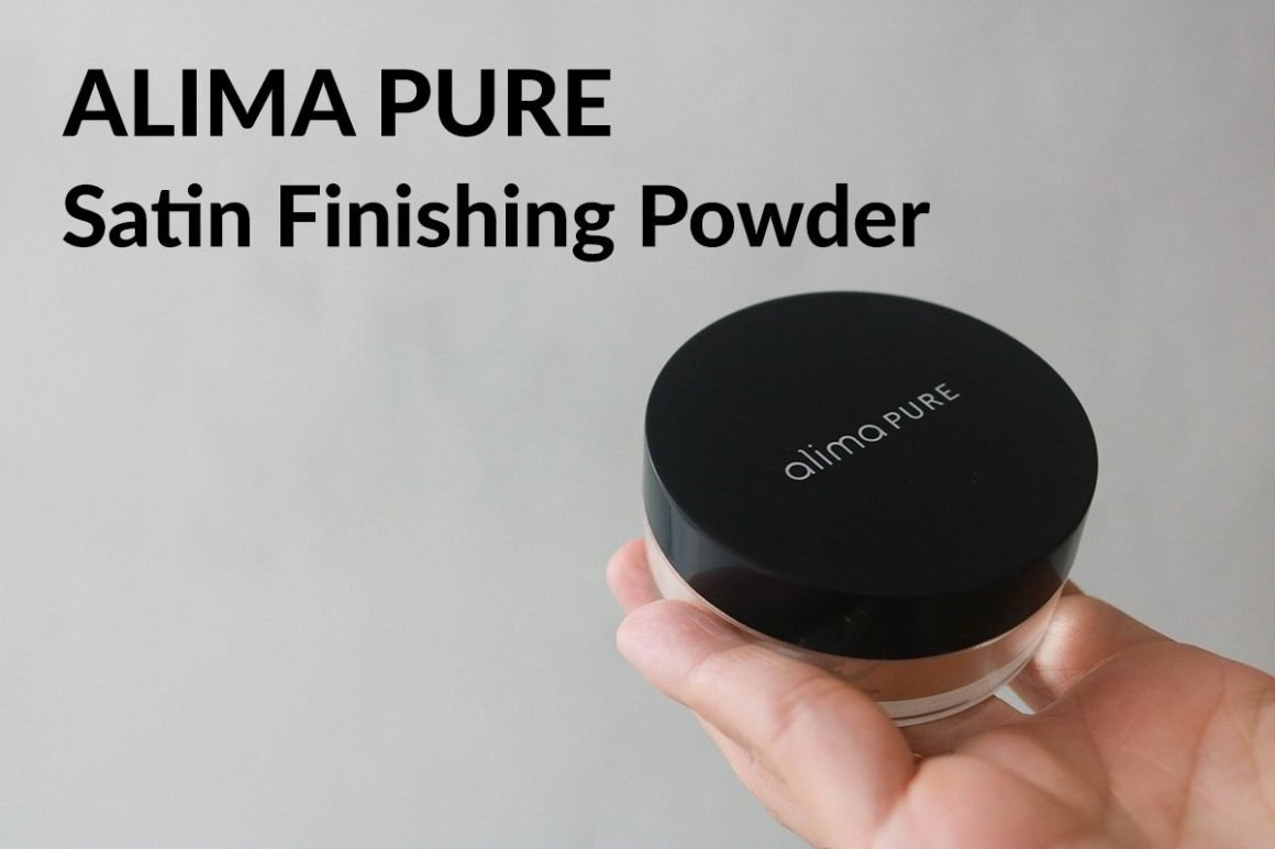 Alima Pure Satin Finishing Powder review in shade Keiko, perfect powder for dry or maturing skin