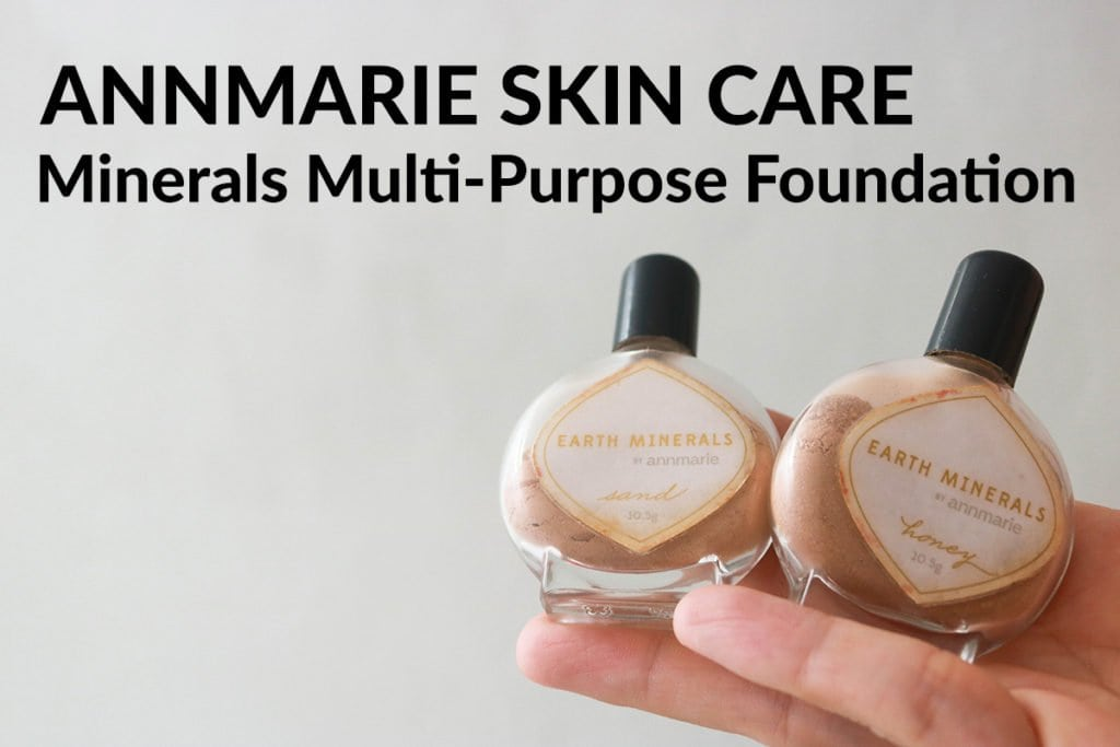 Clean Beauty Makeup Review featuring Annmarie Skin Care Minerals Multi-Purpose Foundation.