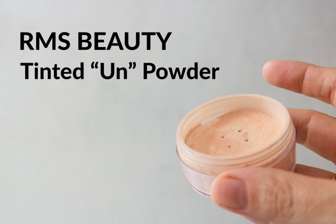 RMS Beauty Tinted Un Powder review in shades 0-1 and 2-3