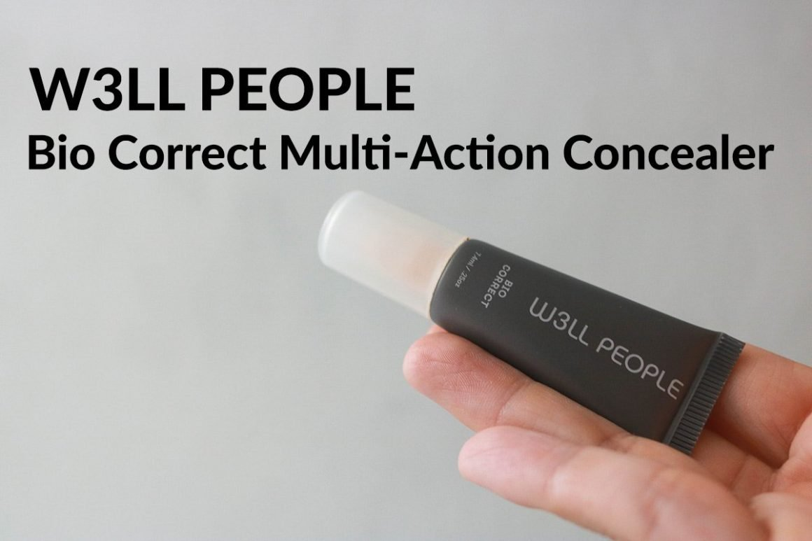 W3LL People Bio Correct Multi Action Concealer review in shade Fair.