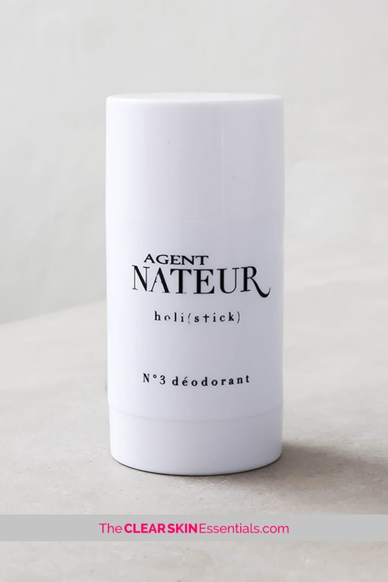 Review of Agent Nateur Holi(Stick) No.3 Deodorant, all natural deodorant with a fresh scent