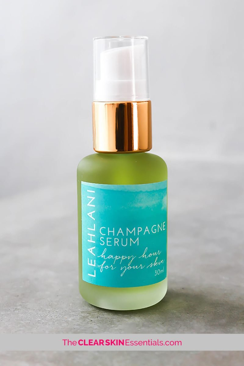 My favourite Leahlani product. Happy Hour Balancing Serum reduces redness, irritation, and brings your skin back to balance