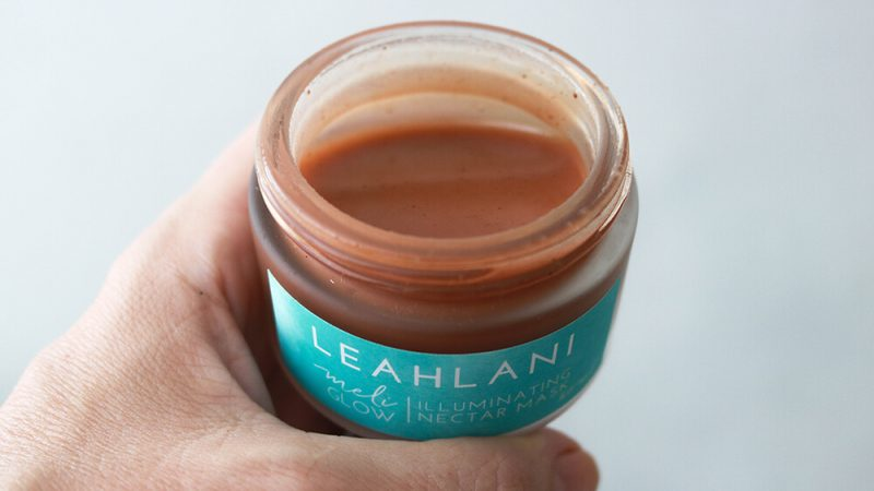 Leahlani Skincare Meli Glow Nectar Mask is hydrating, brightening and clarifying.