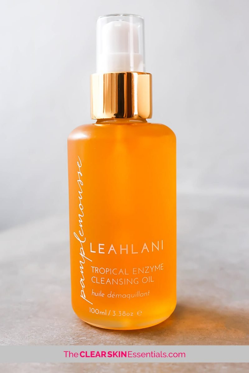 Leahlani Pamplemousse Tropical Enzyme Cleansing Oil review.