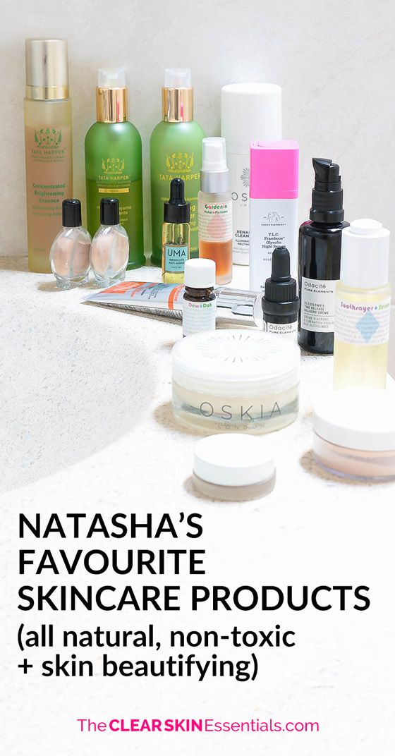 Click here for Natasha's Skincare Favorites
