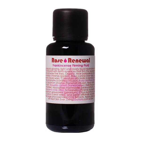 Living Libations Rose Renewal + Frankincense Firming Fluid 30ml
