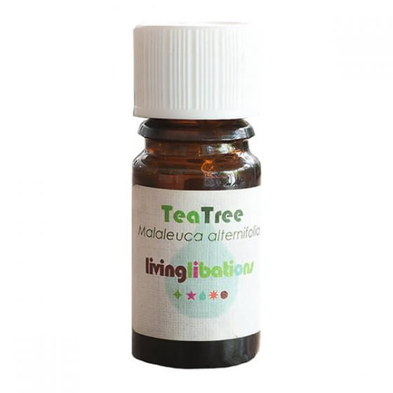 Living Libations Tea Tree Essential Oil, pure, undiluted, 5ml