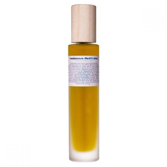 Living Libations Frankincense Best Skin Ever 100ml clarifying and brightening for hyperpigmentation and acne prone skin