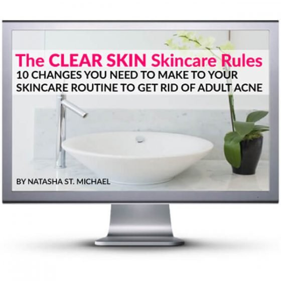 The CLEAR SKIN Skincare Rules video course