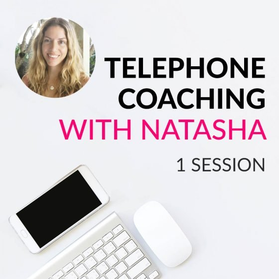 Clear Skin Telephone Coaching with Natasha St. Michael - 1 Session