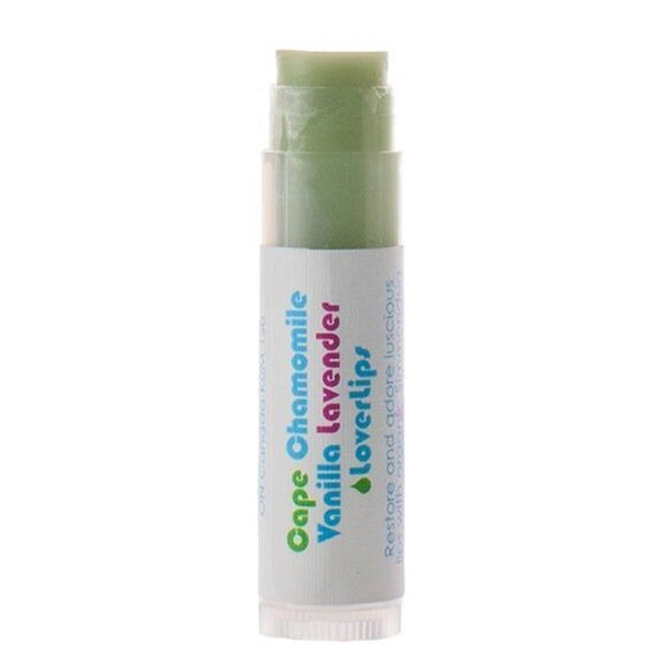 Living Libations Vanilla Chamomile Lover Lips balm to calm dry lips