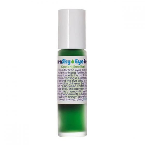 Living Libations Open Sky Eye Serum for tired, lined and puffy eyes.