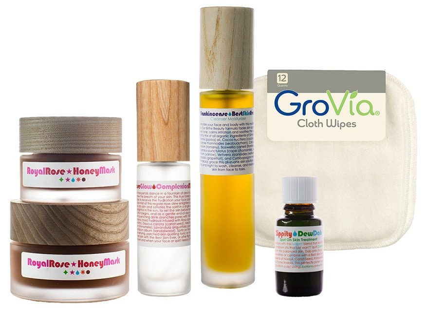 recommended products for clogged pores, blackheads, skin texture, enlarged pores