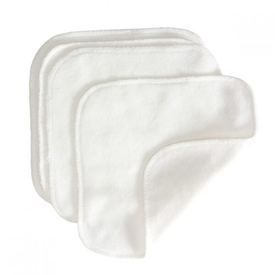 GroVia Cloth Wipes are the softest wash cloths for oil cleansing and sensitive skin.