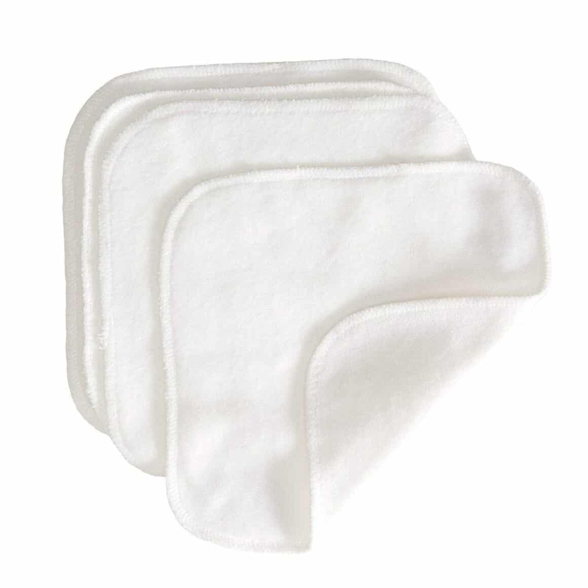 GroVia Cloth Wipes gentle and plush, great face cloths for oil cleansing and removing makeup