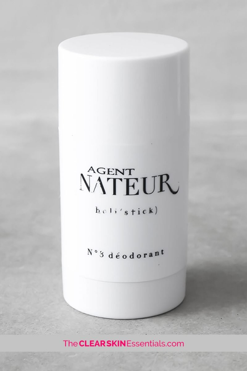Agent Nateur Holi(Stick) No.3 Deodorant review that is all natural deodorant with a fresh eucalyptus scent that controls body odour naturally