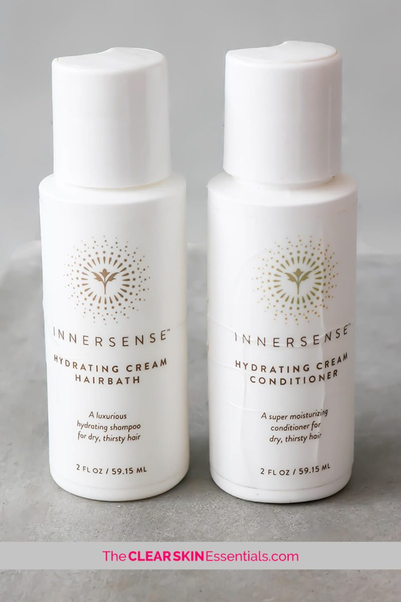 Innersense Hydrating Cream Hairbath and Hydrating Cream Conditioner review for dry, coarse, parched hair