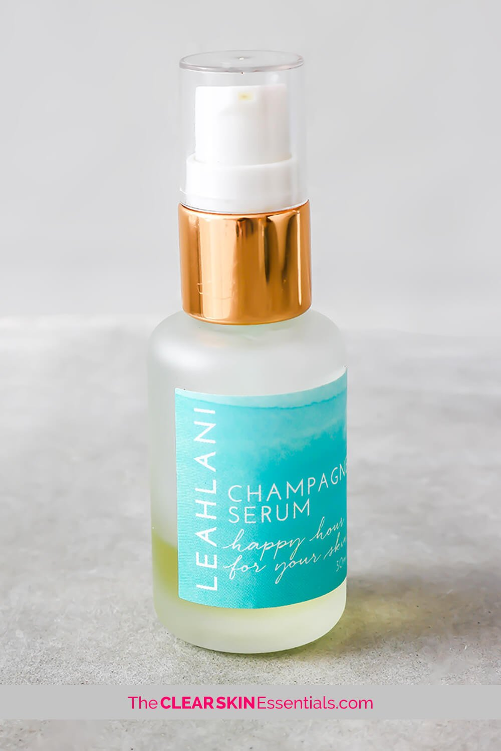 Leahlani Happy Hour Balancing Serum review for irritated, sensitive, acne prone skin.
