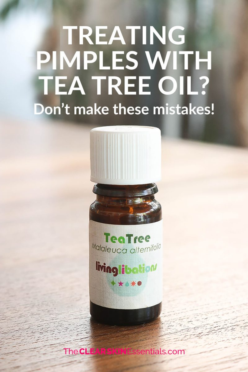 How to use Tea Tree Oil for acne, blemishes and pimples, plus the mistakes to avoid.