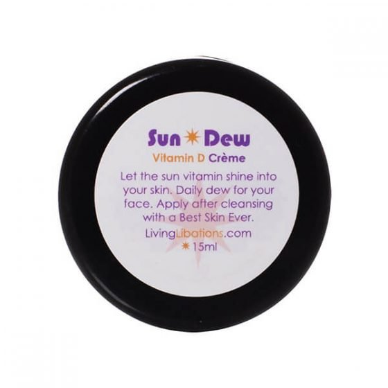 Living Libations SunDew Transdermal Vitamin D Creme 50ml is a perfect moisturizer for dull dry skin.