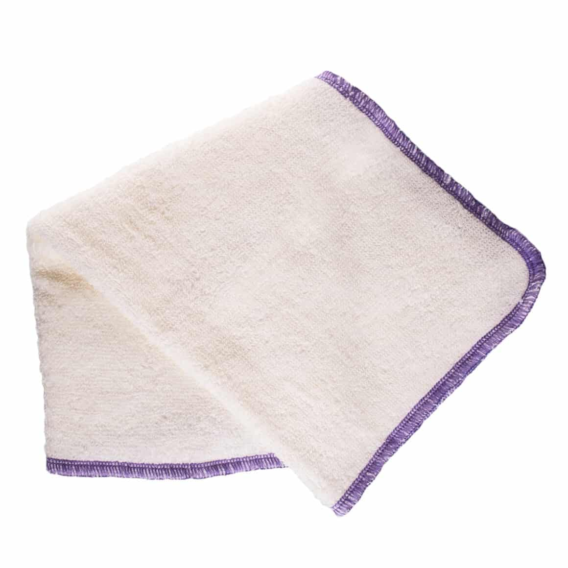 Living Libations Organic Hemp Face Cloths are soft, durable, and have perfect amount of texture for oil cleansing the face and body.