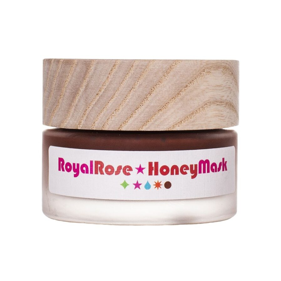 Shop Living Libations Royal Rose Honey Mask, an exfoliating honey clay mask for smoother, clearer skin.