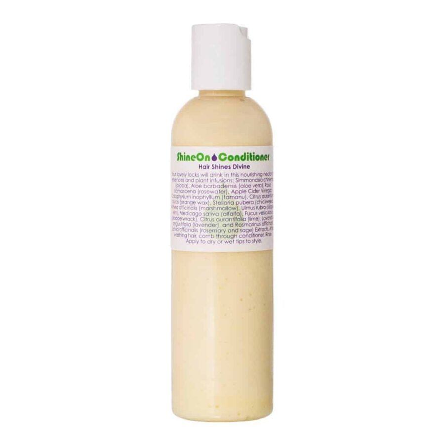 Living Libations Shine On Conditioner is a lightweight weight hair conditioner that softens and polishes the hair delivering brilliant shine.