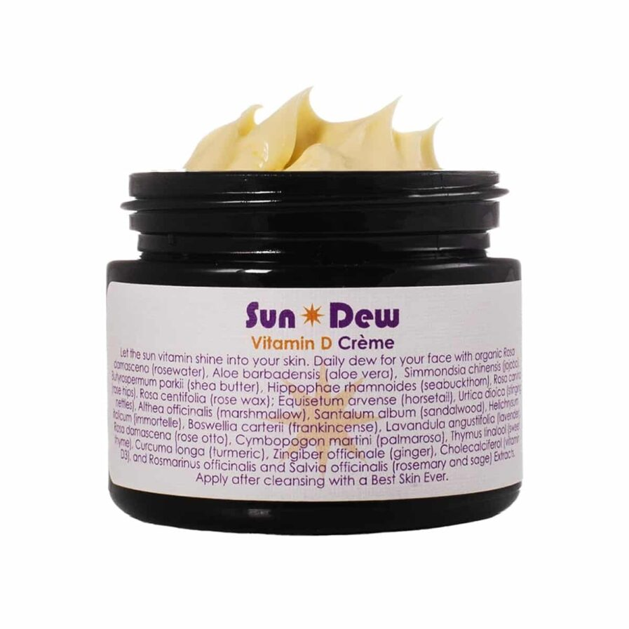 Living Libations Sun Dew Transdermal Vitamin D Creme 50ml is a perfect moisturizer for dull dry skin.