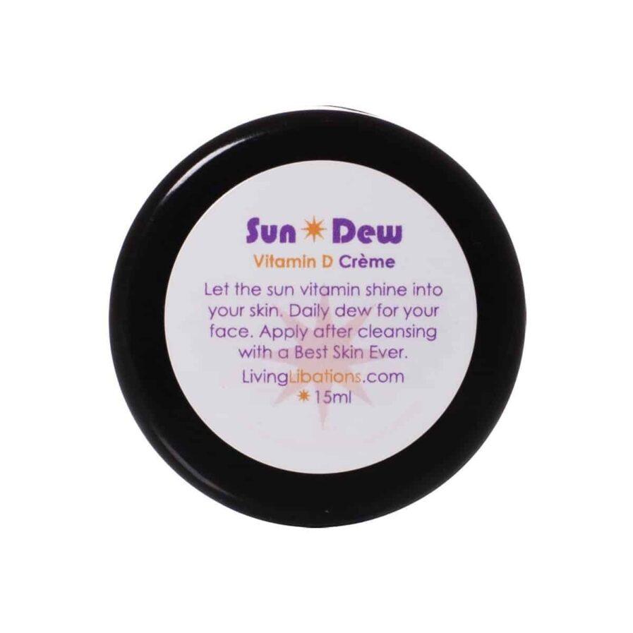 Living Libations SunDew Transdermal Vitamin D Creme 50ml is a perfect moisturizer for dull dry skin.
