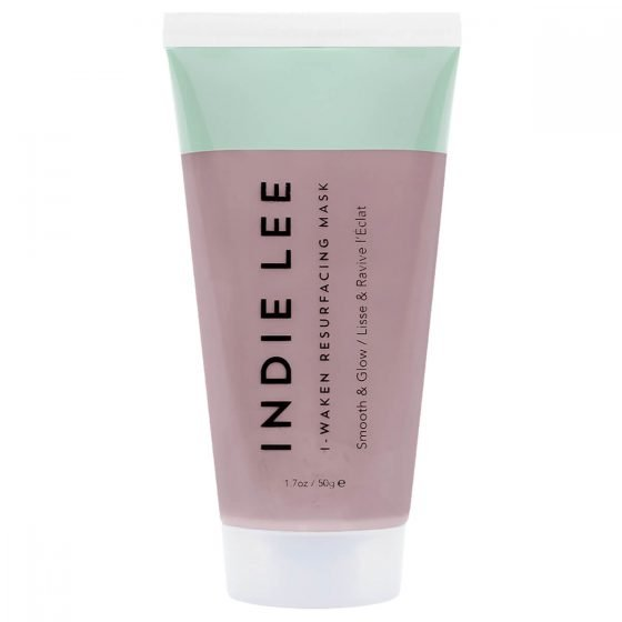 Indie Lee Resurfacing Mask for smooth, radiant, clear skin. A gentle exfoliating 5 minute mask delivers instant results.