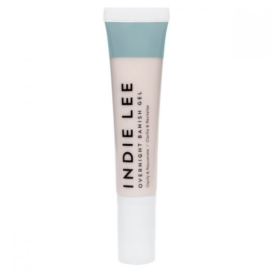 Indie Lee Overnight Banish Gels helps clear up breakouts and acne while you sleep.