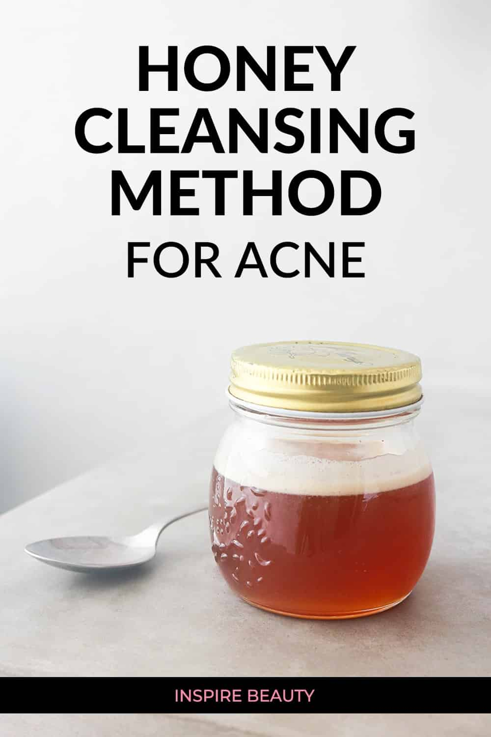 Honey cleanser for acne can help clear up breakouts and pimples fast, get instruction, video demo, and tips for best results