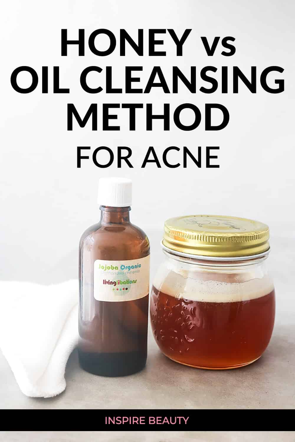 Honey vs Oil Cleansing Method for acne, find out which cleanser is the best for acne prone skin