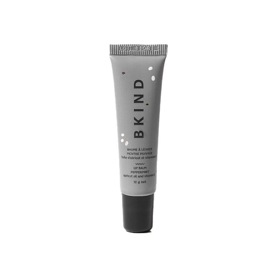 BKIND Lip Balm Peppermint is a nourishing lip balm made of all natural ingredients to protect and soften dry, cracked, chapped lips.